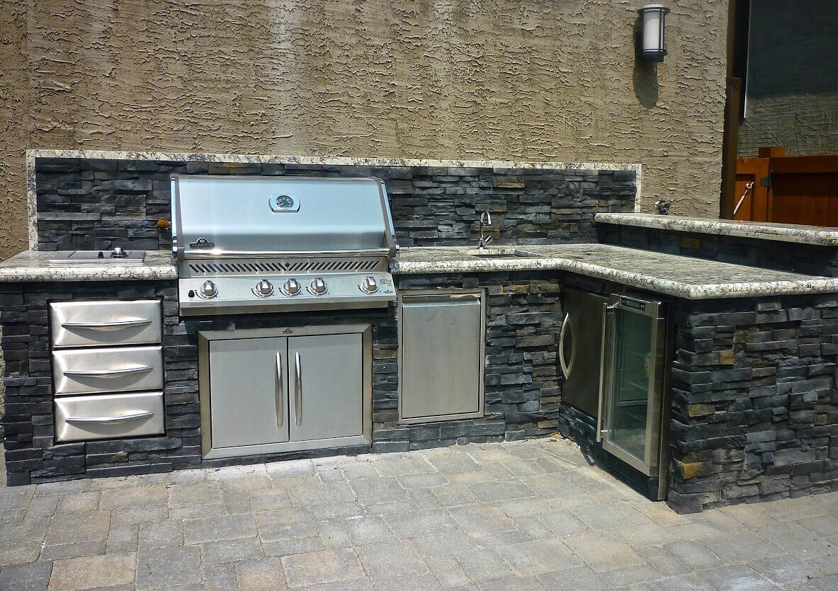 Outdoor Kitchens Viking Landscaping