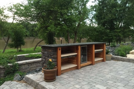 Stone Patios, Walkways and Firepits
