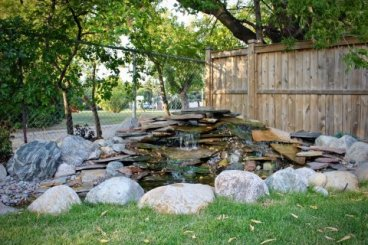 Ponds, Waterfalls, Rock Gardens